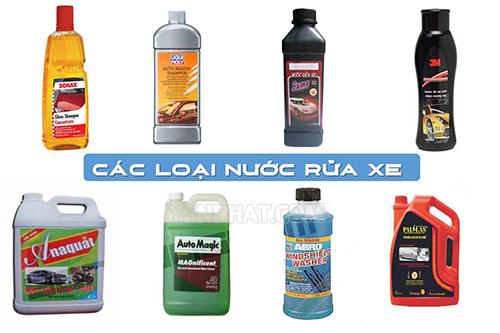 Dung dịch rửa xe chuyên nghiệp