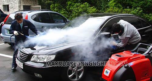 Rửa xe hơi nước nóng là một trong những xư hướng hiện nay