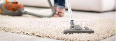Thường xuyên vệ sinh thảm bằng những cách giặt thảm lông cừu tại nhà