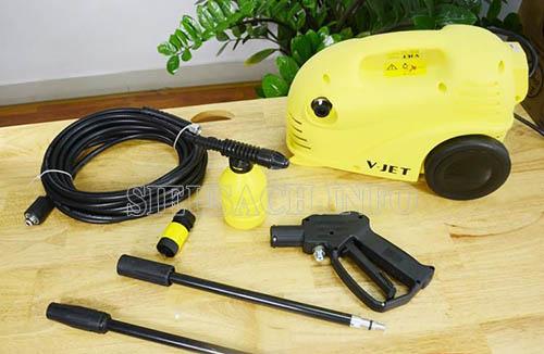 Bộ dụng cụ tiện lợi của máy rửa xe V-jet vj 100