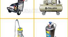Bộ thiết bị vệ sinh ô tô chuyên nghiệp cho tiệm rửa xe