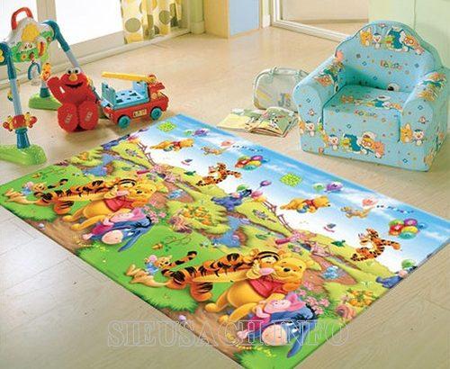 Cách giặt thảm xốp hiệu quả tại nhà