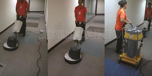 Làm sạch thảm trải sàn hiệu quả