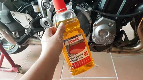 Dung dịch rửa xe chuyên dụng