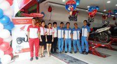 Cửa hàng dịch vụ sửa chữa, bảo dưỡng xe máy Honda chuyên nghiệp