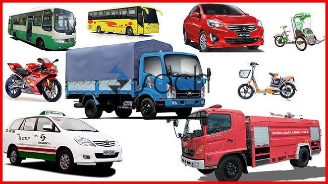 Các phương tiện giao thông đường bộ gồm những loại nào?