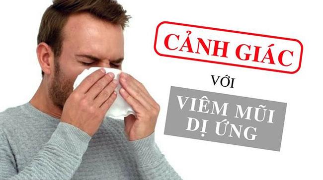 Các biến chứng của viêm mũi dị ứng