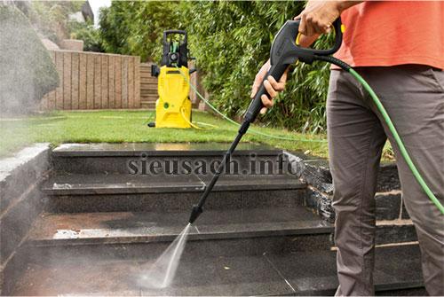 Máy rửa xe mini gia đình là thiết bị làm sạch chuyên dụng