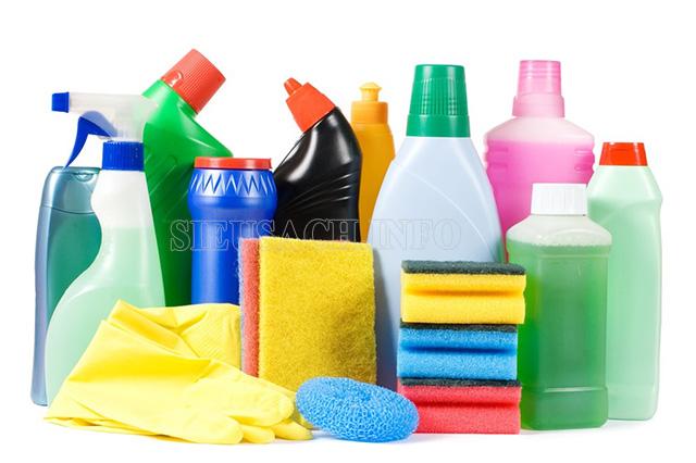 Các chất tẩy rửa