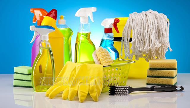 Chất tẩy rửa phổ biến