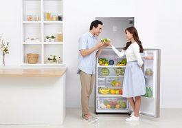 Tủ lạnh là nơi dự trữ thức ăn cho mỗi gia đình