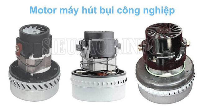 Các loại động cơ máy hút bụi phổ biến