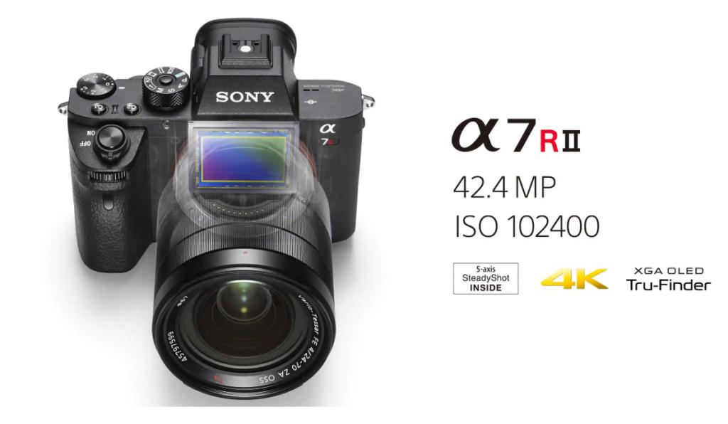 trang bị cảm biến hình ảnh CMOS full-frame 35mm chiếu sáng sau