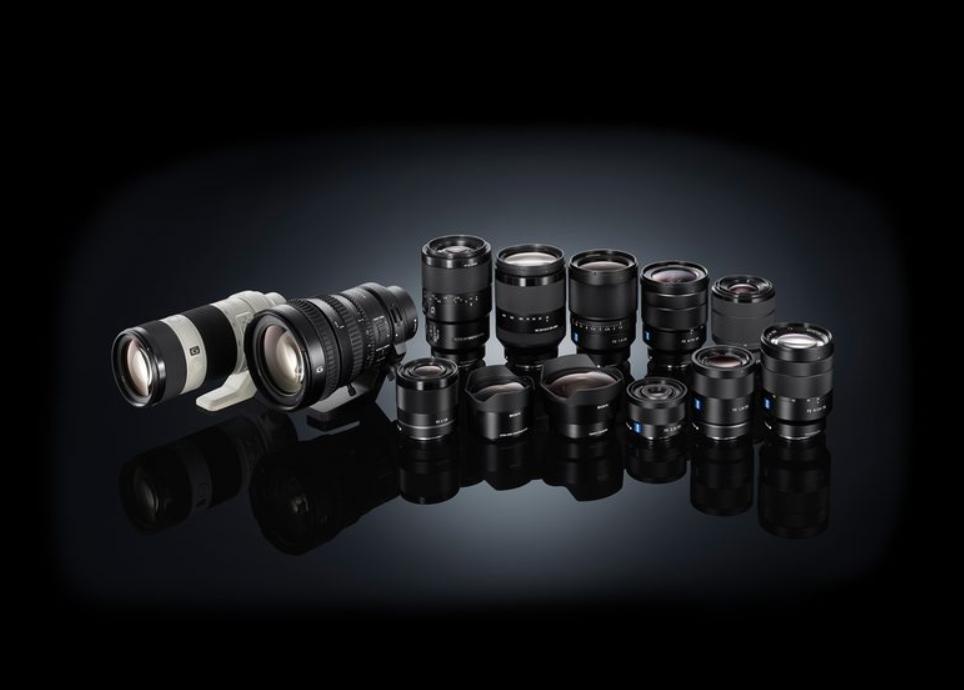 ống kính E-mount tương thích full-frame 35mm