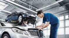 quy trình bảo dưỡng xe ô tô bổ xung nước làm mát