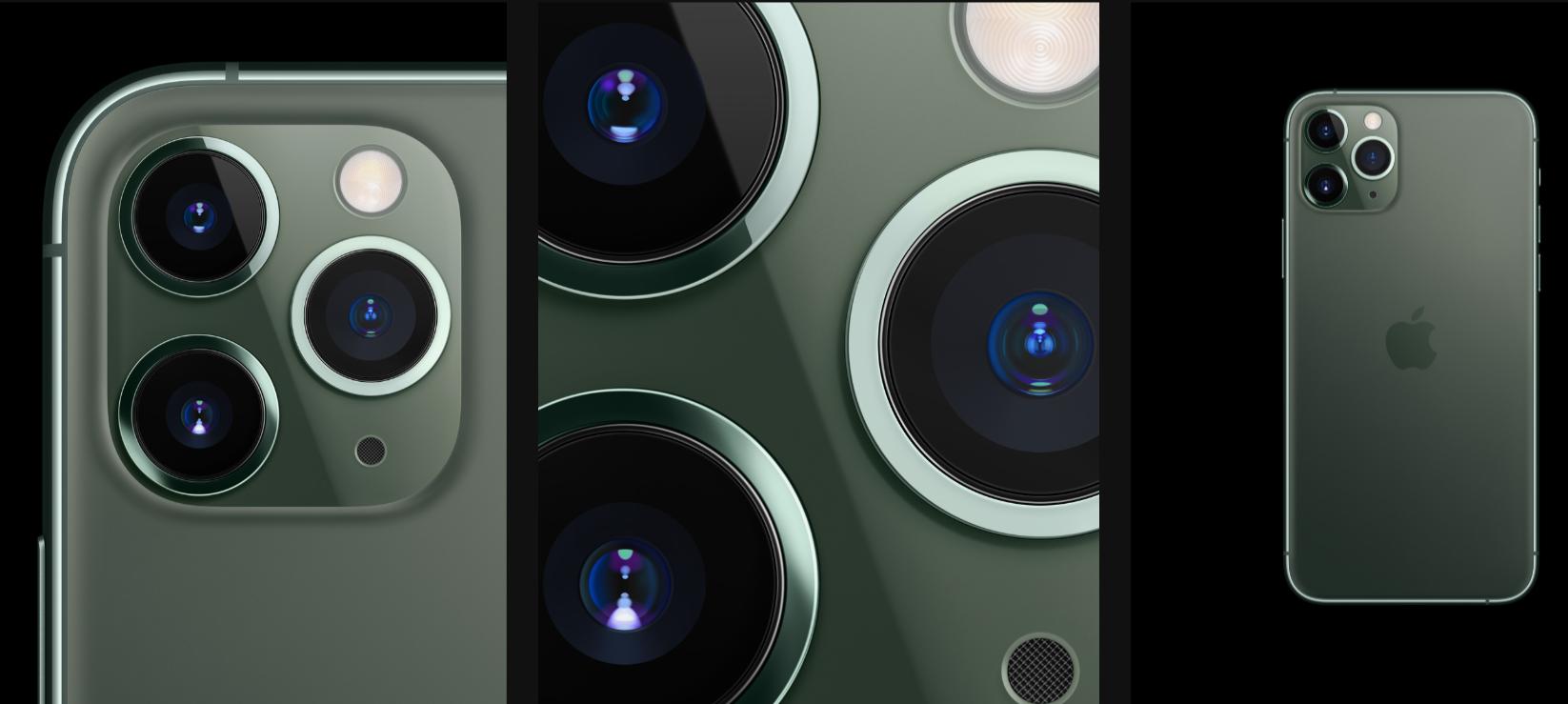 hệ thống camera gồm 3 ống kính