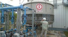 Quy trình lắp đặt tháp giải nhiệt nước