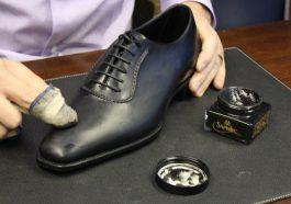 Xi giúp giày trở nên sáng bóng