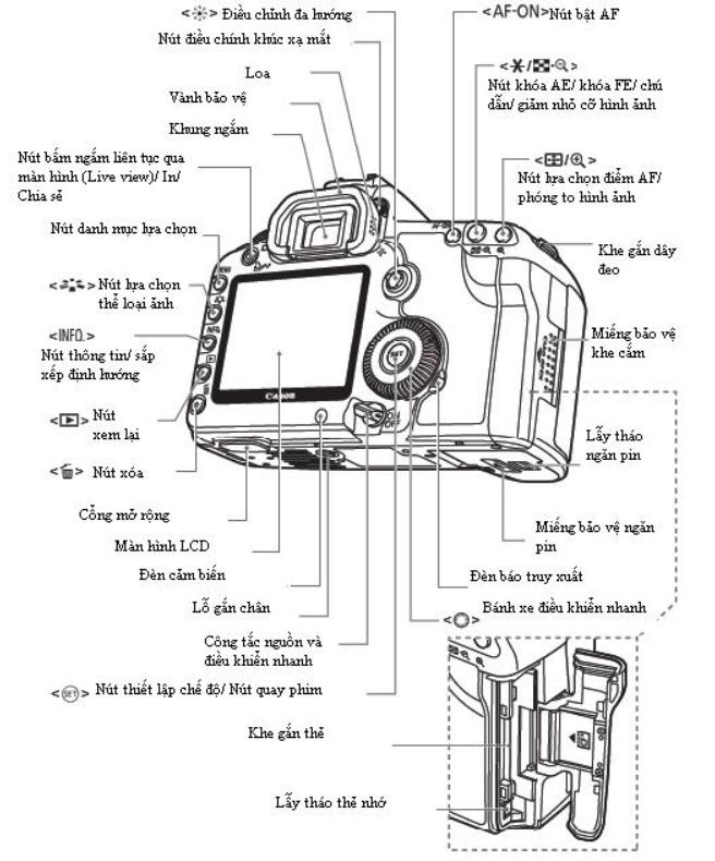 Hướng dẫn sử dụng máy ảnh Canon