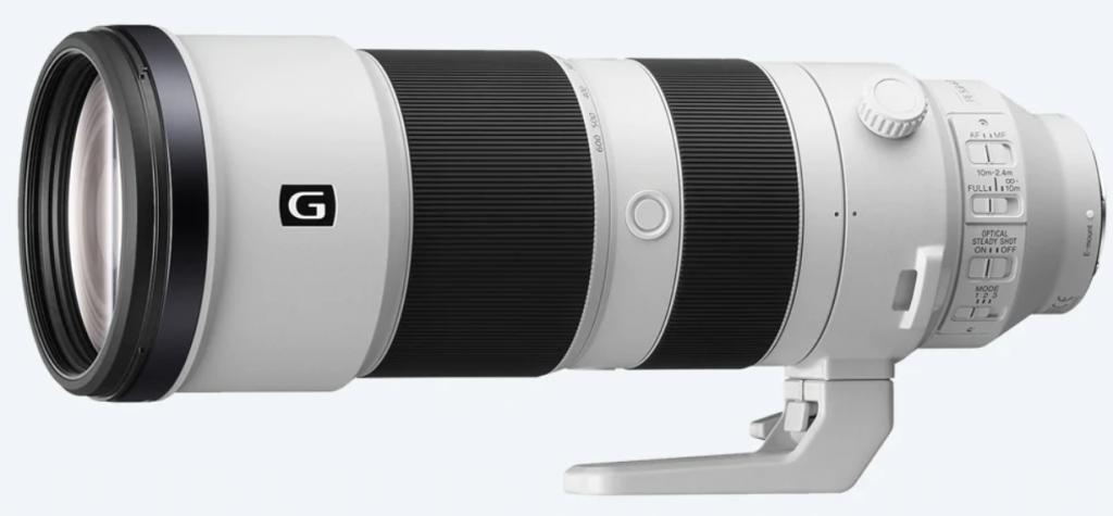 Lens Tele có dải tiêu cự cực lớn
