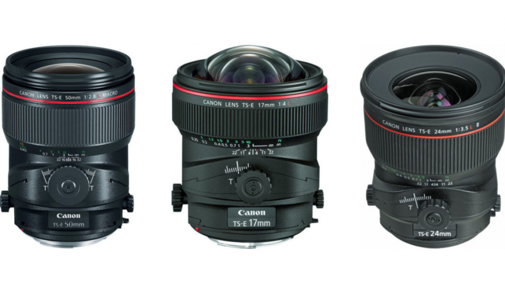 Lens Tilf-shift là loại ống kính đặc biệt