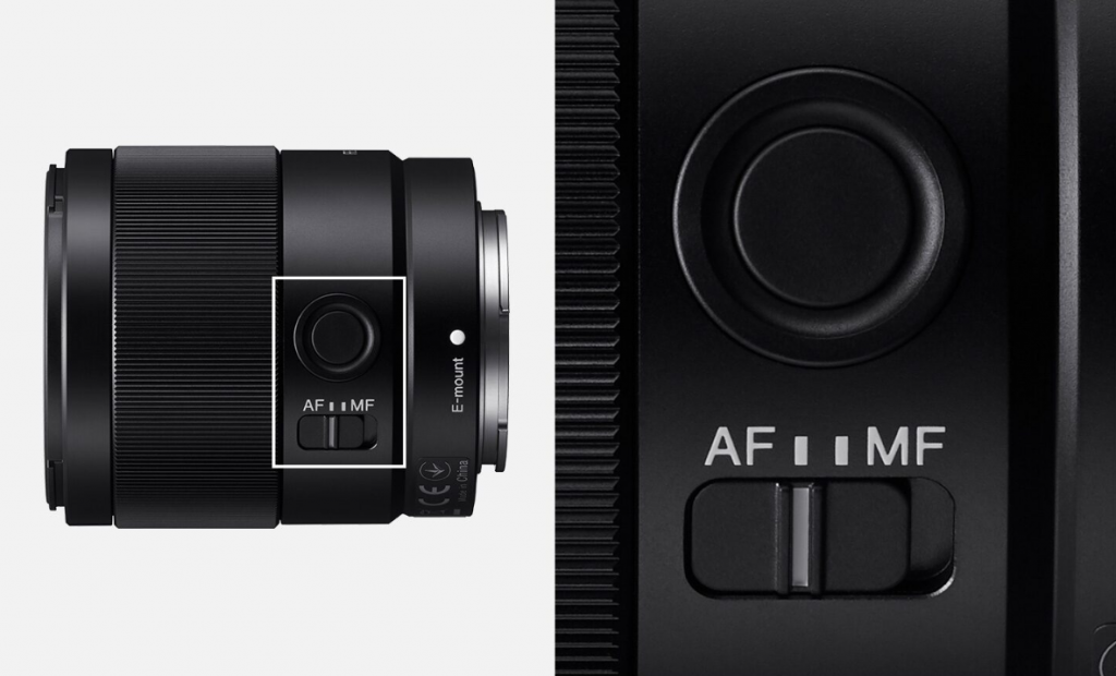 Lens kit đi kèm theo máy