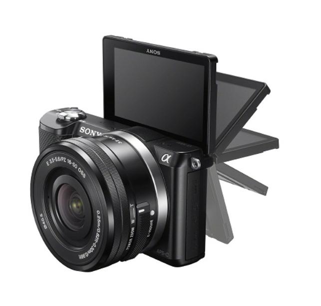 Máy ảnh Sony A5000 hiện được trang bị độ cảm biến APS-C CMOS