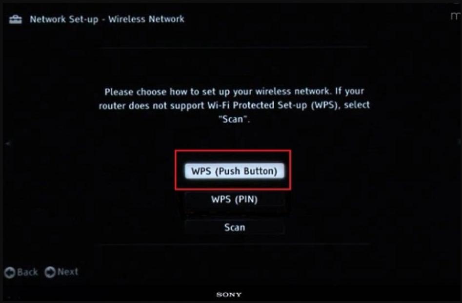 kết nối WPS WIFI cho tivi