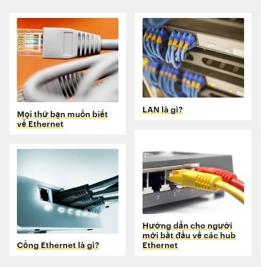 Ethernet được hoạt động như thế nào?