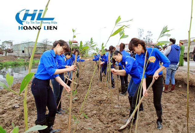 Trồng cây để giữ gìn môi trường trong lành