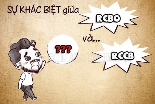 Đâu là sự khác biệt giữa RCBO và RCCB?