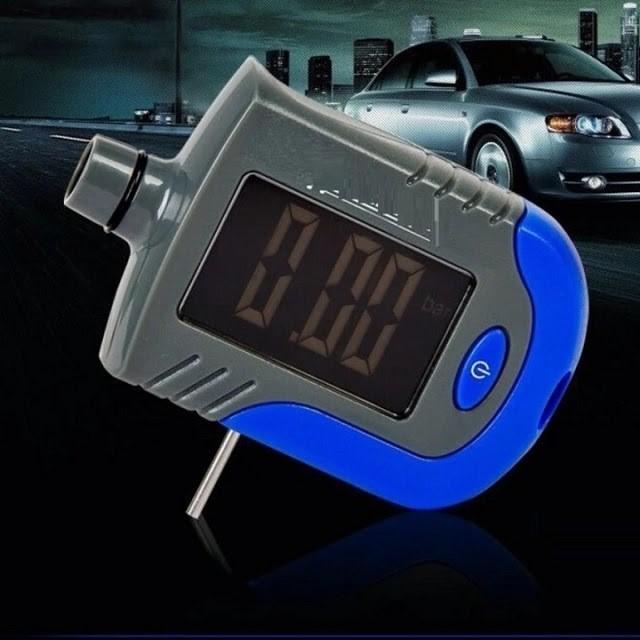 Đồng hồ đo áp suất lốp xe máy, tô tô Michelin