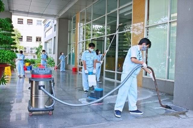 Các dịch vụ vệ sinh công nghiệp đang được phát triển mạnh mẽ