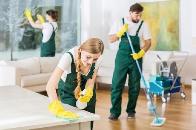 Dịch vụ vệ sinh công nghiệp đang được đông đảo người dùng sử dụng