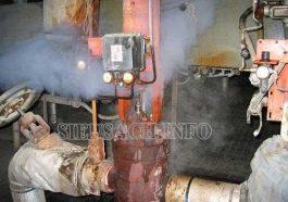 máy nén khí bị xì hơi