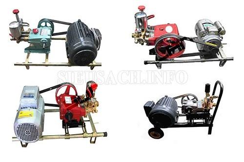 Một số sản model máy rửa xe dây đai