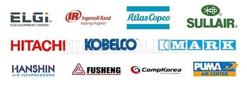 Một số thương hiệu máy nén khí nổi bật có thể bạn quan tâm
