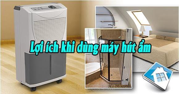 Máy hút ẩm đem lại nhiều lợi ích quan trọng