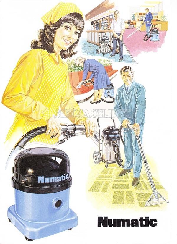 Giá bán của máy hút bụi nhà xưởng Numatic rất hợp lý