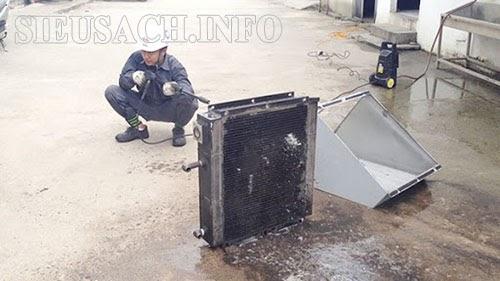 nguyên nhân máy nén khí bị nóng