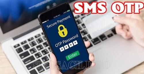 Hình thức lấy mã xác thực qua SMS
