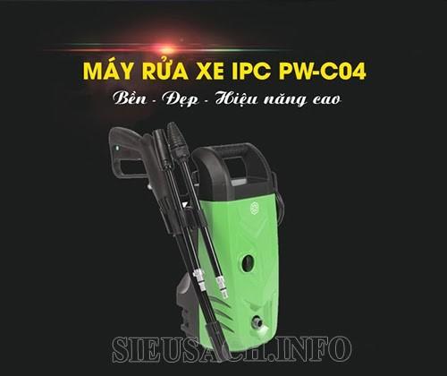 Máy rửa xe IPC đến từ Ý