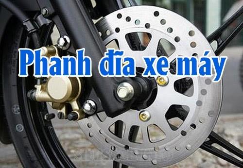 Phanh đĩa xe máy là một bộ phận quan trọng