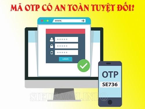 Tính an toàn của mã OTP