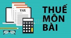 Thuế môn bài là gì?