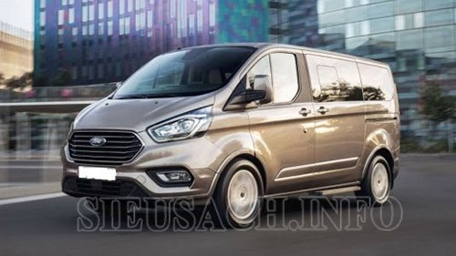 Xe MPV Ford Tourneo sở hữu thiết kế mạnh mẽ cùng diện tích rộng rãi