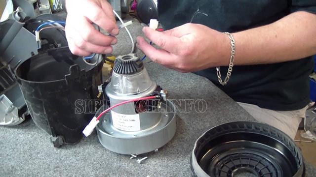Kiểm tra, quấn lại dây motor nếu máy bị khét do sự cố chập cháy mô tơ
