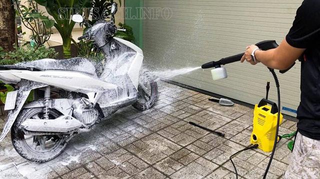 Các thương hiệu máy phun rửa xe mini