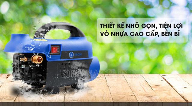 máy rửa xe mini có thiết kế gọn nhẹ