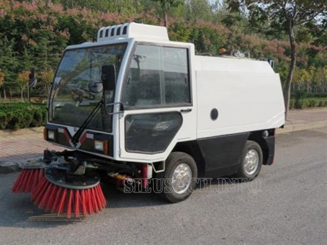 Xe quét rác là thiết bị vệ sinh công nghiệp ưu việt